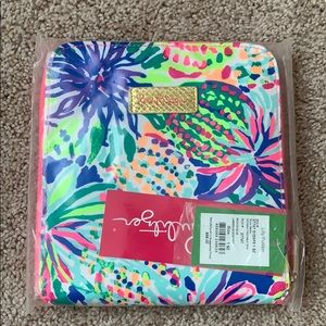 NWT Lilly Pulitzer packable tote beckon blue